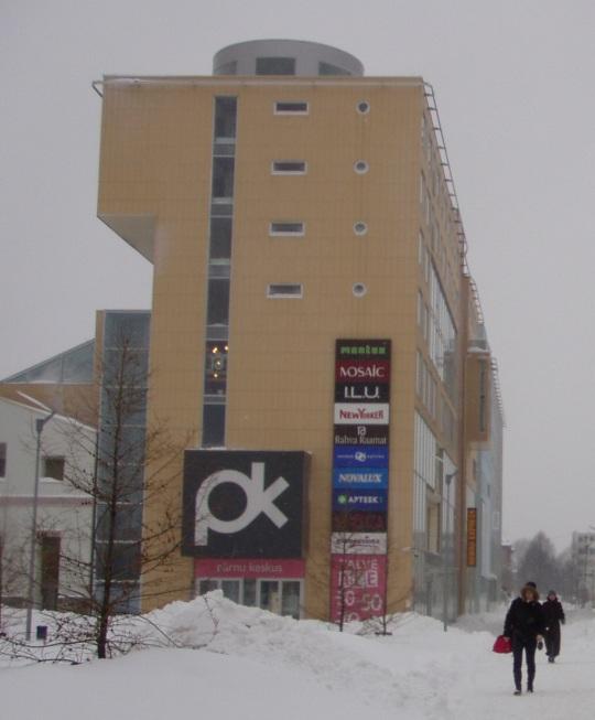 Pärnu Keskus on müügis, foto jaanuar 2011 Virgo Kruve