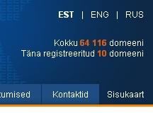eestiinternet.ee registreeritud domeenid 5.11.2011 hommikul
