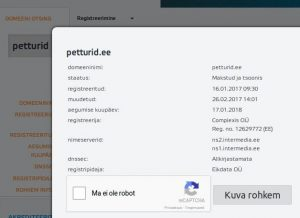 Internetikaubamajad OÜ väljapressimine: valetaja nõuab tõese info kustutamist või levitab laimu ettevõtja, Tarbijakaitseameti, Eesti Post AS kohta.