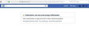 b24 kustunud facebook